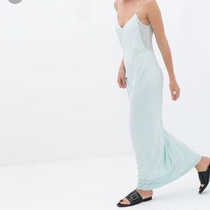 NWT ZARA strappy maxi dress